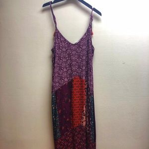 Charming Charlie Medium Purple Maxi Dress
